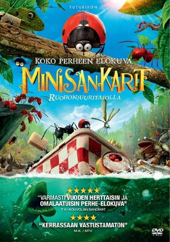 Minisankarit dvd Elokuva Ruohonjuuritasolla