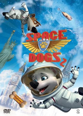 Space Dogs 2 Elokuva dvd