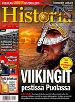 Historia-lehti tarjous 2021