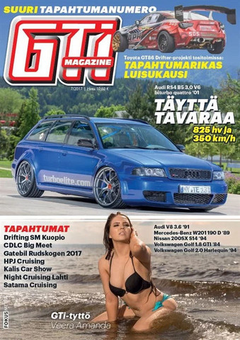 GTi-lehti tarjous 2021