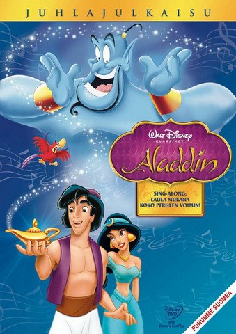 Aladdin dvd, Disney Klassikko