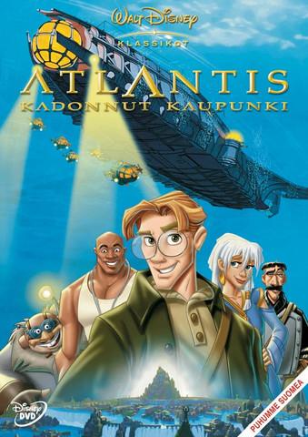 Atlantis Kadonnut kaupunki dvd, Disney Klassikko