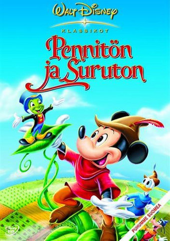 Pennitön ja Suruton dvd, Disney Klassikko