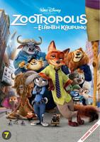 Zootropolis Eläinten Kaupunki dvd, Disney Klassikko