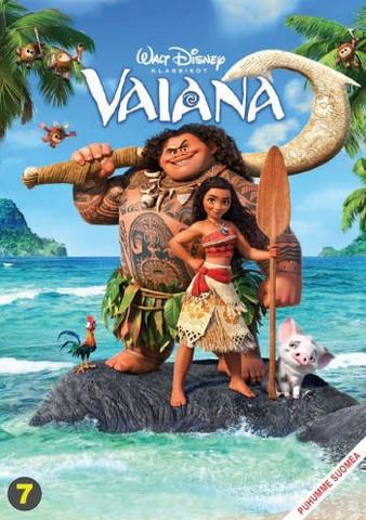 Vaiana dvd, Disney Klassikko