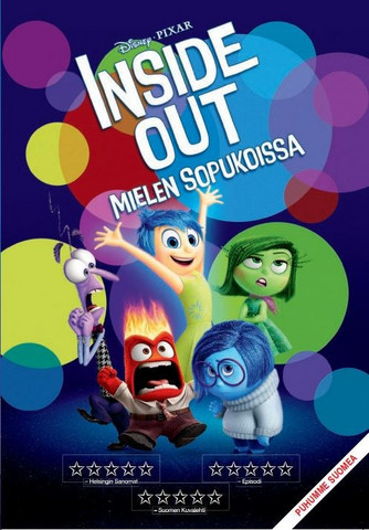 Inside Out Mielen sopukoissa dvd, Disney Pixar Klassikko