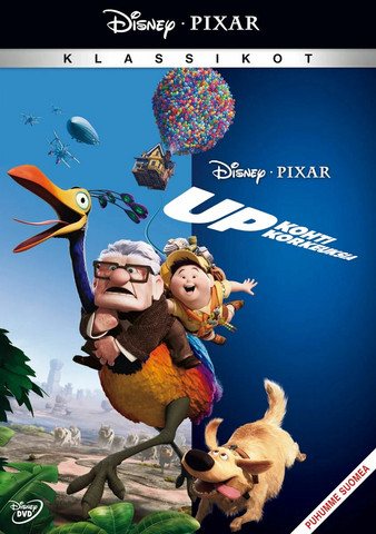 UP - Kohti korkeuksia dvd, Disney Pixar Klassikko