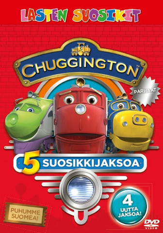 Chuggington Veturit Parhaat dvd