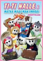 Ti-Ti Nalle: Matka maailman ympäri dvd