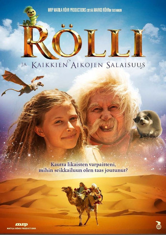 Rölli ja kaikkien aikojen salaisuus dvd