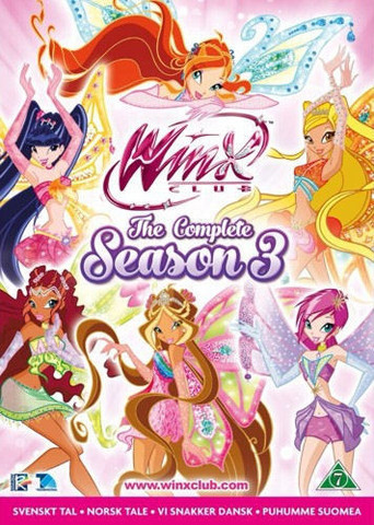 Winx Club Kausi 3 BOX dvd