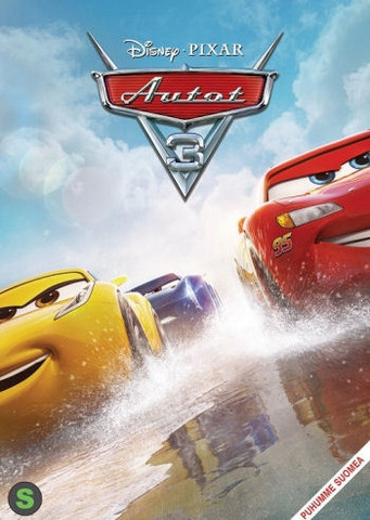 Cars Autot 3 dvd Disney Pixar