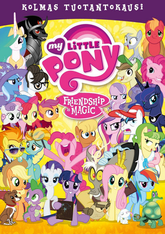 My Little Pony Kausi 3 BOX dvd