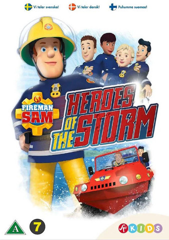 Palomies Sami: Myrskyn sankarit dvd