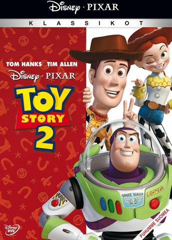 Toy Story 2 dvd, Disney Pixar