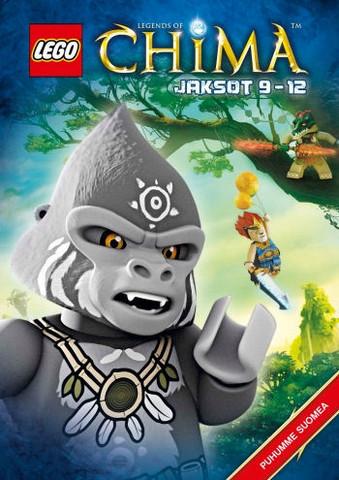 Lego Legends of Chima Jaksot 9-12 dvd