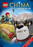Lego Legends of Chima Jaksot 13-16 dvd
