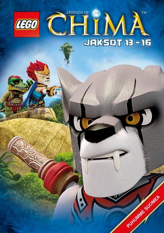 Lego Legends of Chima Jaksot 13-16 dvd
