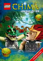Lego Legends of Chima Jaksot 21-24 dvd