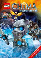 Lego Legends of Chima Jaksot 25-28 dvd