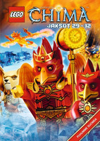 Lego Legends of Chima Jaksot 29-32 dvd
