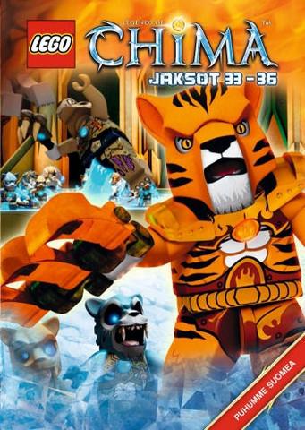 Lego Legends of Chima Jaksot 33-36 dvd