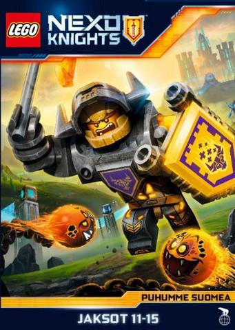 Lego Nexo Knights Jaksot 11-15 dvd