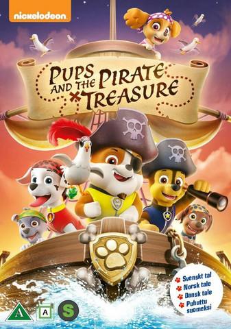 Ryhmä Hau: Pennut ja merirosvoaarre dvd