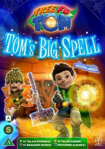 Puu Fu Tom: Tomin suuri loitsu dvd