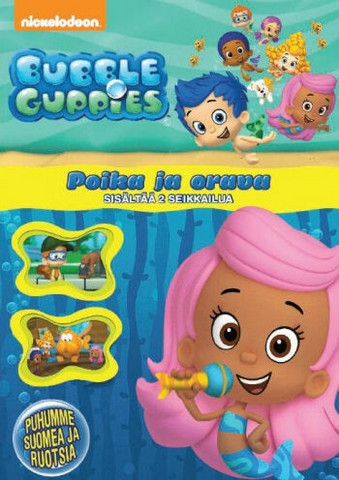 Bubble Guppies: Poika ja orava dvd