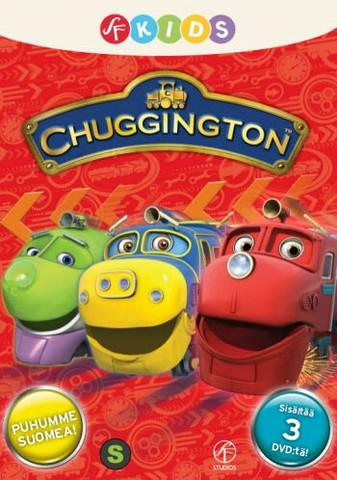 Chuggington Veturit BOX 3 x dvd