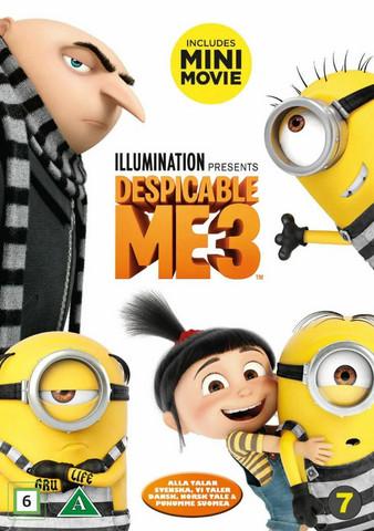Itse Ilkimys 3 dvd