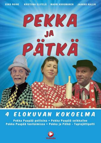 Pekka ja Pätkä BOX 4 x dvd Pekka Puupää