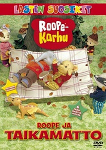 Roope-karhu: Roope ja taikamatto dvd