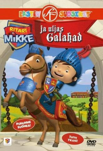 Ritari Mikke ja uljas Galahad dvd