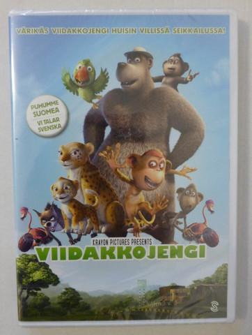Viidakkojengi Elokuva dvd