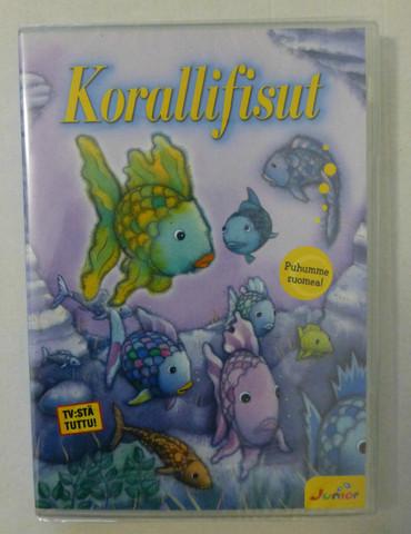 Korallifisut dvd
