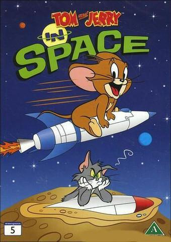 Tom ja Jerry: Avaruudessa dvd