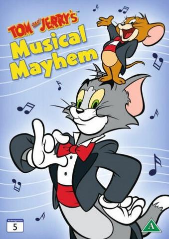 Tom ja Jerry: Musiikkimellakka dvd