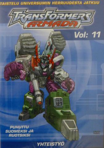 Transformers Armada Vol 11: Yhteistyö dvd