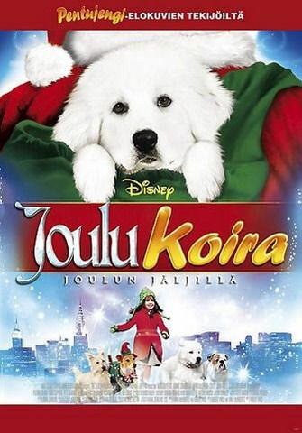 Joulukoira joulun jäljillä dvd Disney