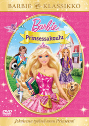 Barbie: Prinsessakoulu dvd