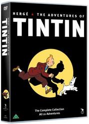 Tintin seikkailut BOX 1+2+3+4+5+6+7 dvd