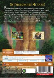 Robin Hood dvd, Disney Klassikko