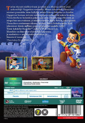 Pinocchio dvd, Disney Klassikko
