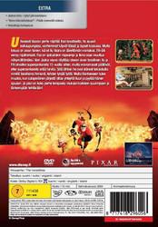 Ihmeperhe dvd, Disney Pixar