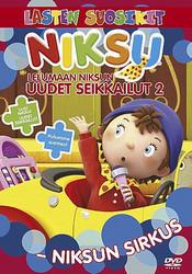 Lelumaan Niksun uudet seikkailut 2: Niksun sirkus dvd