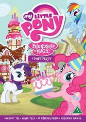 My Little Pony: Ystävyyden taikaa - Ponijuhlat dvd