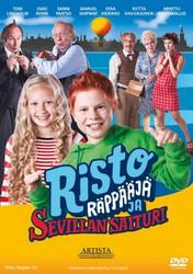 Risto Räppääjä ja Sevillan saituri dvd