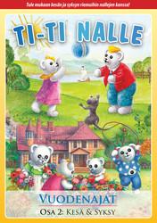 Ti-Ti Nalle Vuodenajat kesä ja syksy dvd